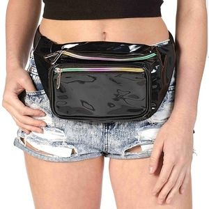 Holographic Rave Fanny Pack